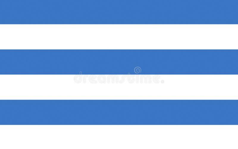 Bandeira de Tallinn, Estônia ilustração stock