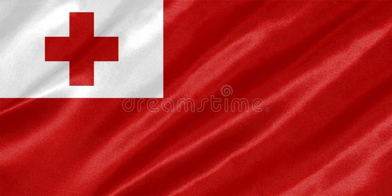 Bandeira de Tonga imagens de stock royalty free