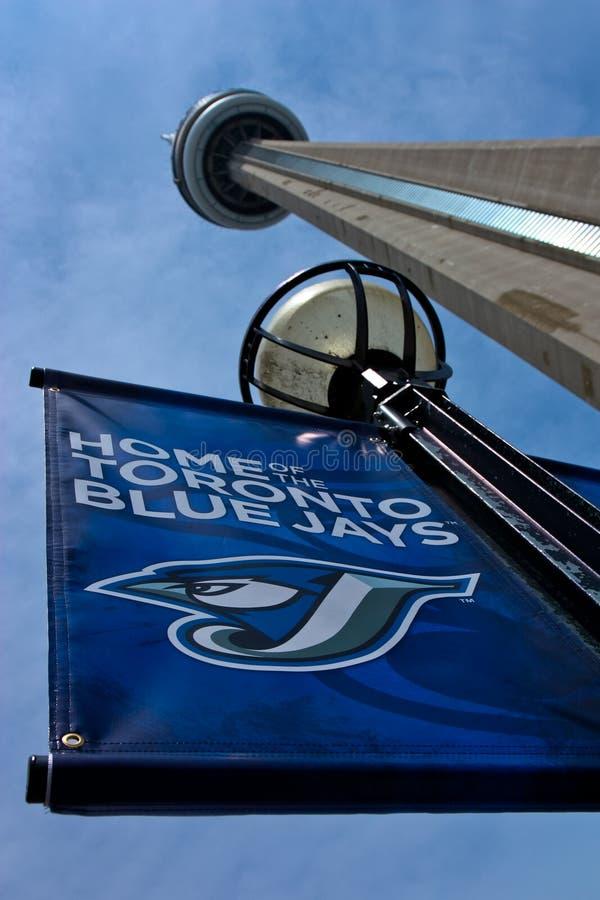 Bandeira de Toronto Blue Jays fotos de stock