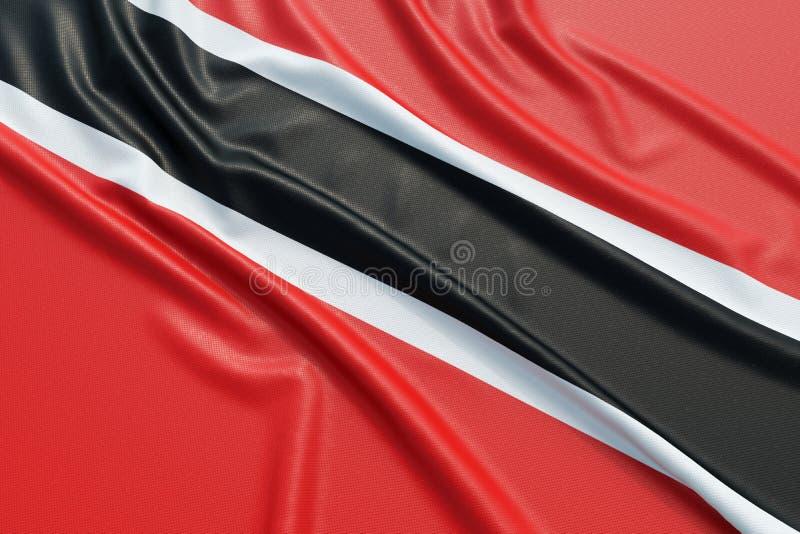 Bandeira de Trinidad And Tobago ilustração stock