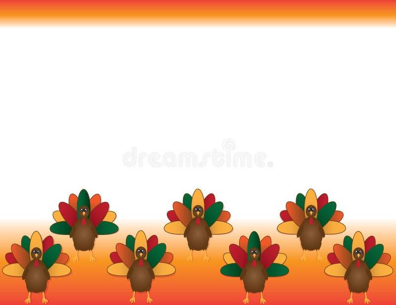 Bandeira de Turquia da ação de graças para cartões, insetos, cartaz, e mais ilustração royalty free