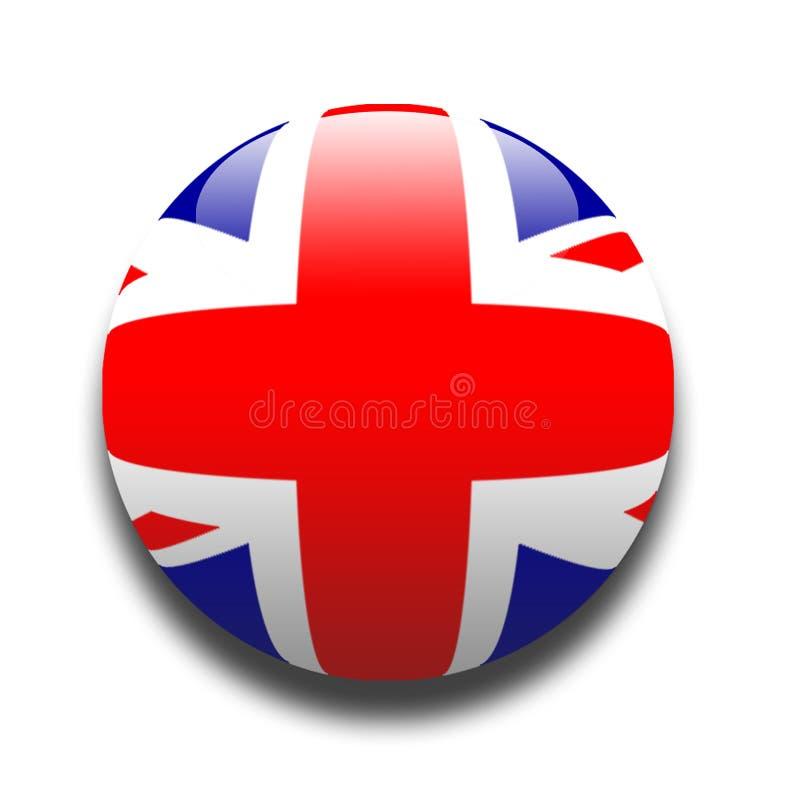 Bandeira de união (união Jack do aka) ilustração do vetor