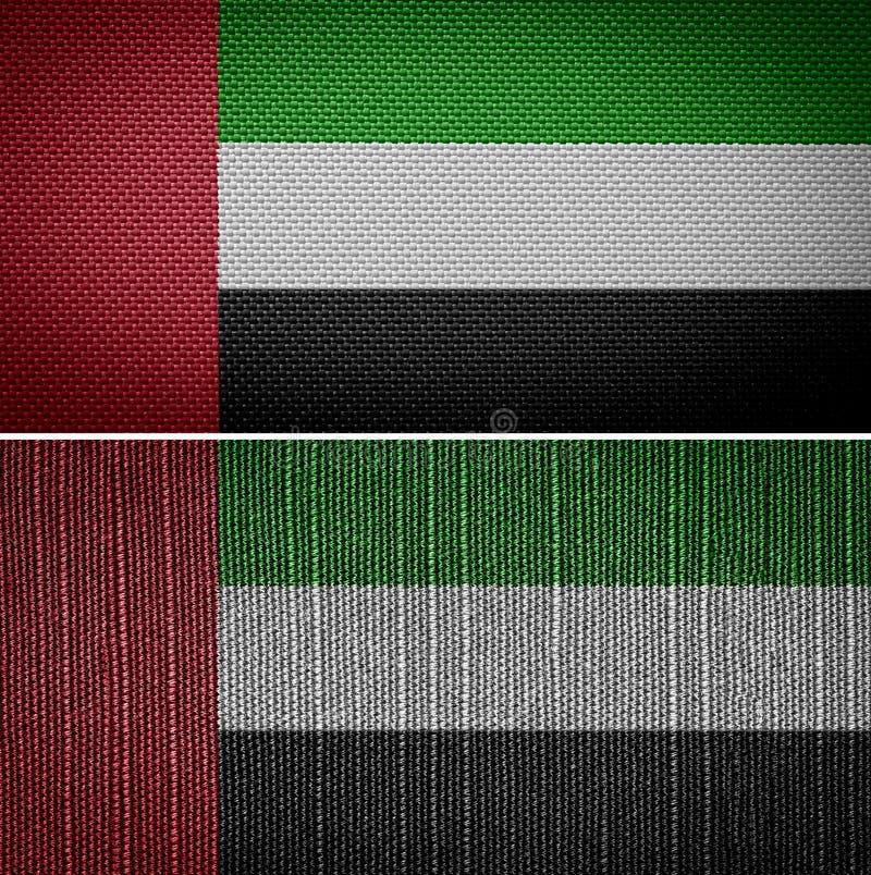 Bandeira de United Arab Emirates ilustração royalty free