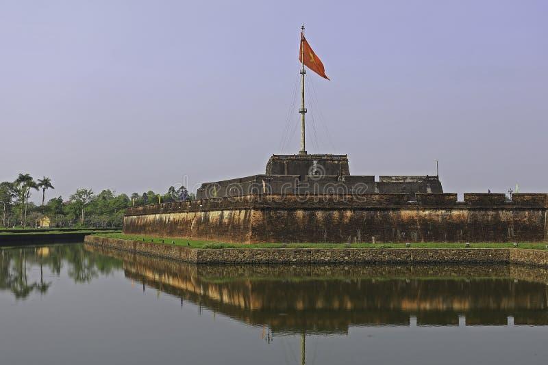 Bandeira de Vietname fotos de stock royalty free