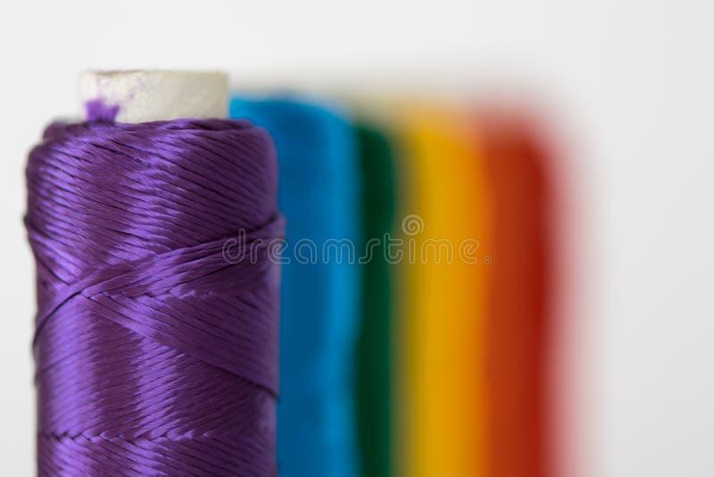 Bandeira do arco-íris Símbolo de LGTB foto de stock royalty free