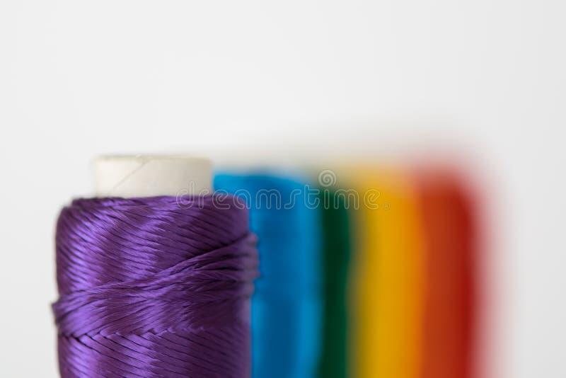 Bandeira do arco-íris Símbolo de LGTB imagem de stock royalty free