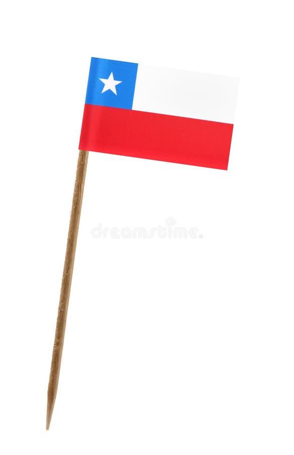 Bandeira do Chile imagens de stock