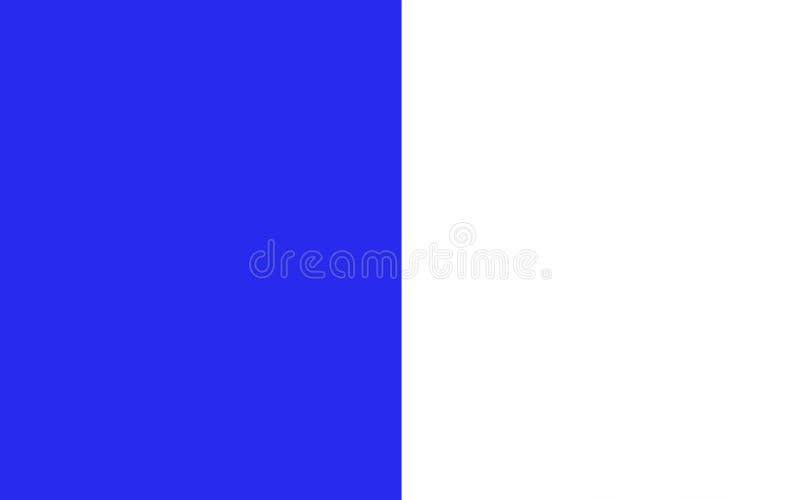 A bandeira do condado Cavan é um condado na Irlanda ilustração stock