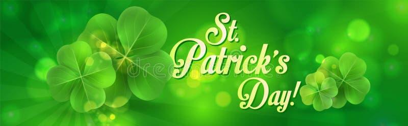 Download Bandeira Do Dia Do ` S De St Patrick Ilustração do Vetor - Ilustração de festival, mola: 107525793