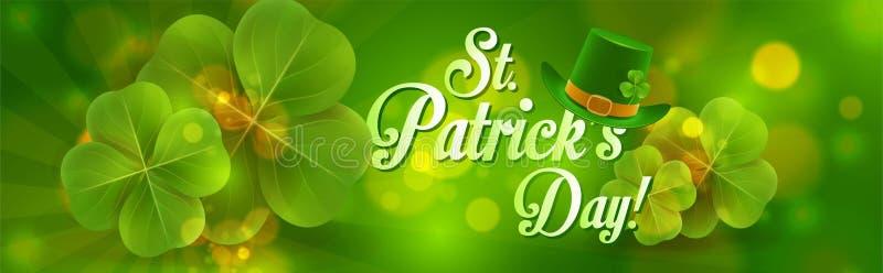 Download Bandeira Do Dia Do ` S De St Patrick Ilustração do Vetor - Ilustração de ilustração, saint: 107525861