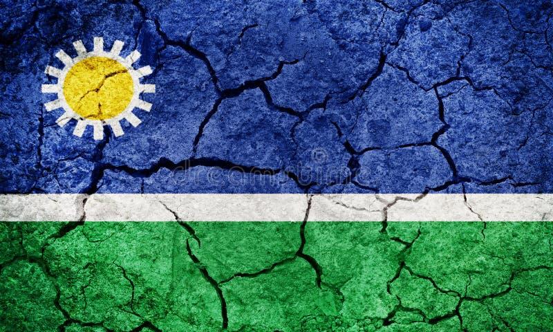 Bandeira do estado de Portuguesa imagens de stock royalty free