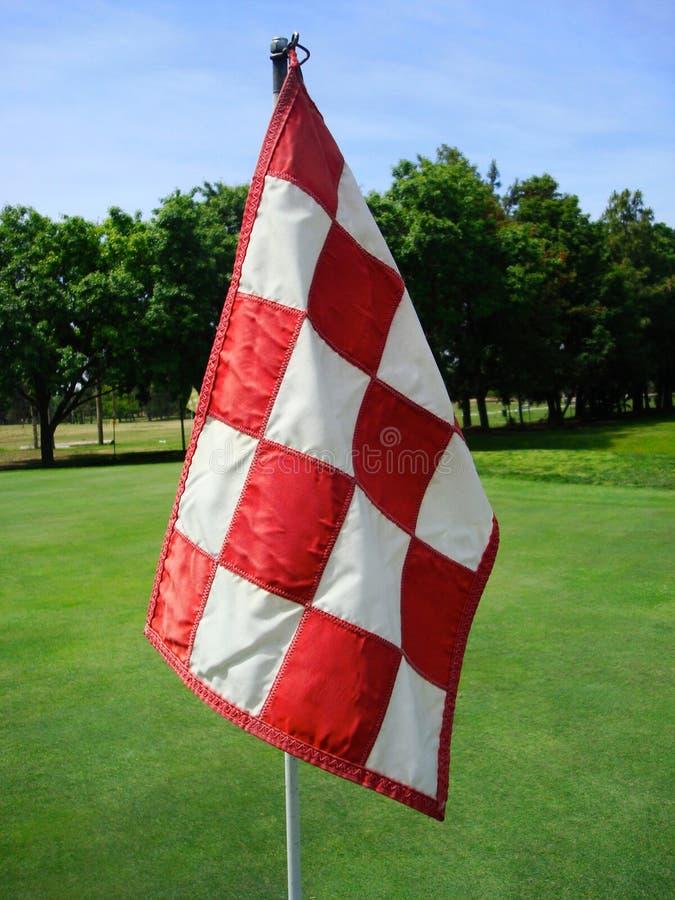 Bandeira do golfe imagem de stock