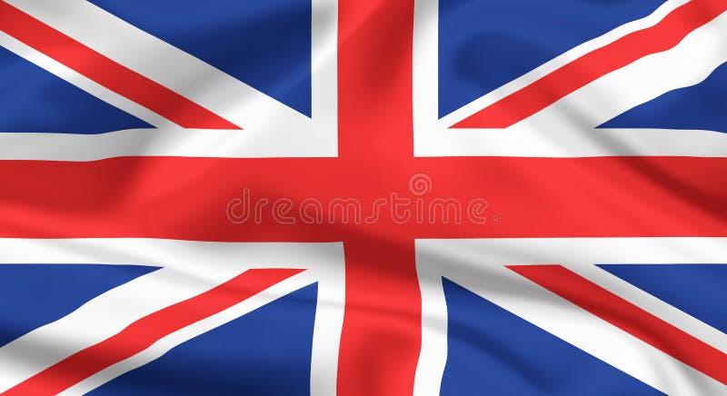 Bandeira do Reino Unido foto de stock