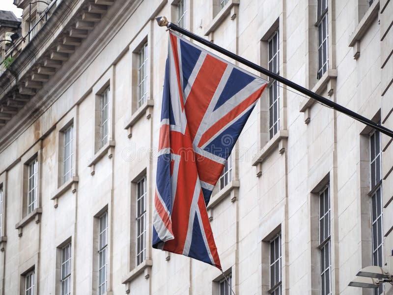 bandeira do Reino Unido (UK) também conhecida por Union Jack imagem de stock