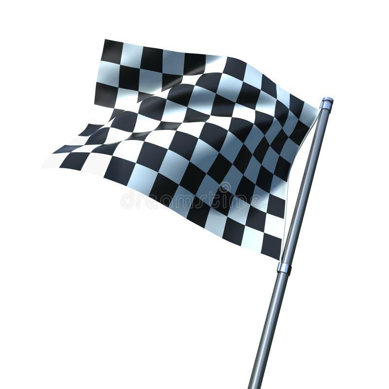 Bandeira do revestimento ilustração royalty free