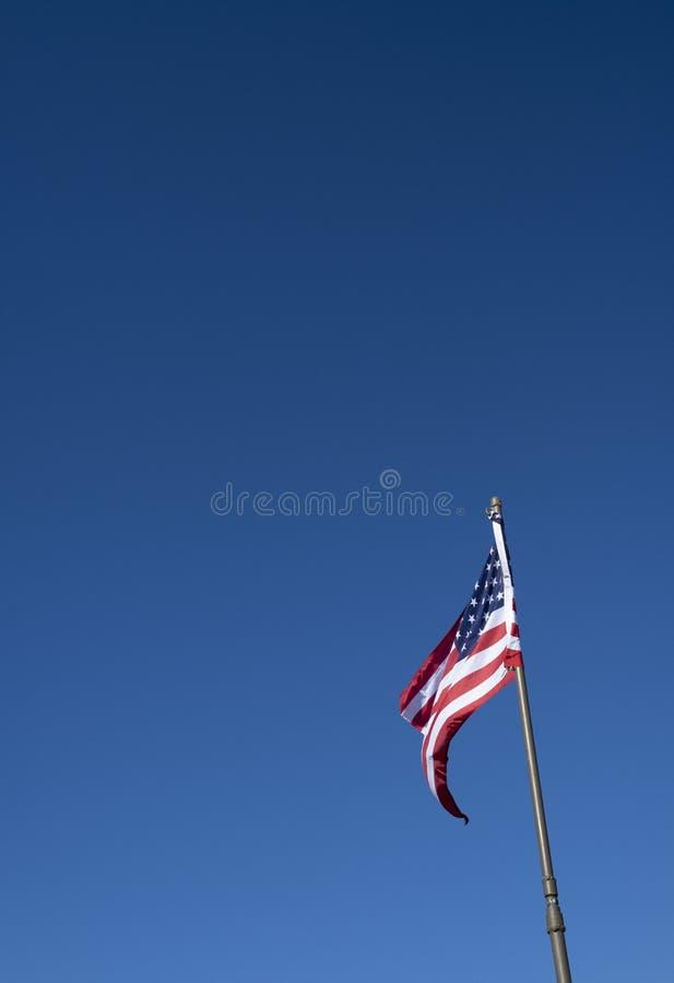 A bandeira do une estados de América imagens de stock royalty free