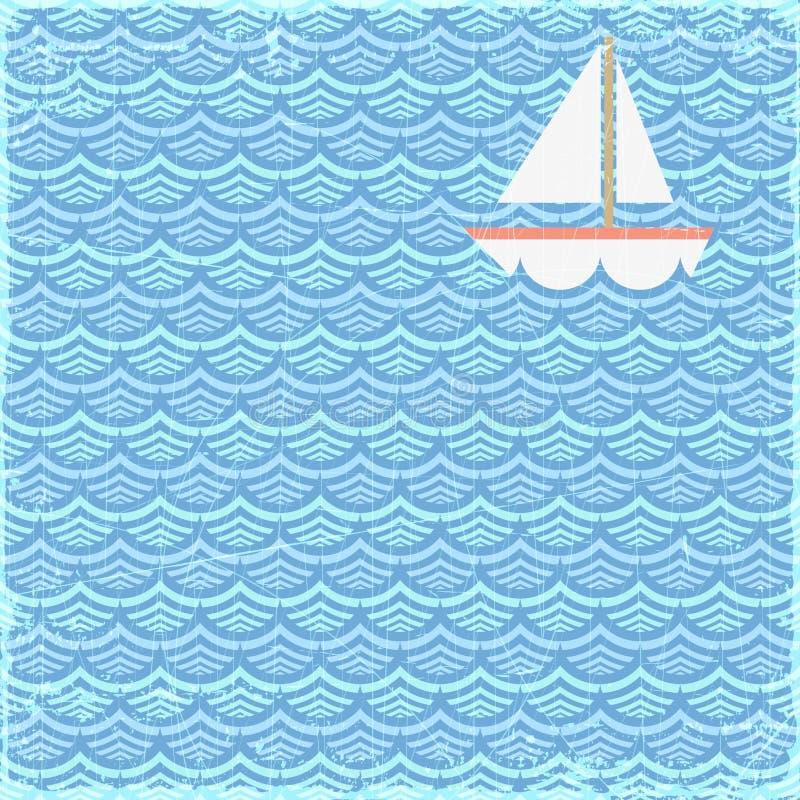 Bandeira do verão ilustração do vetor