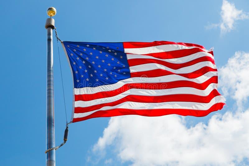 Bandeira dos E.U. imagem de stock royalty free