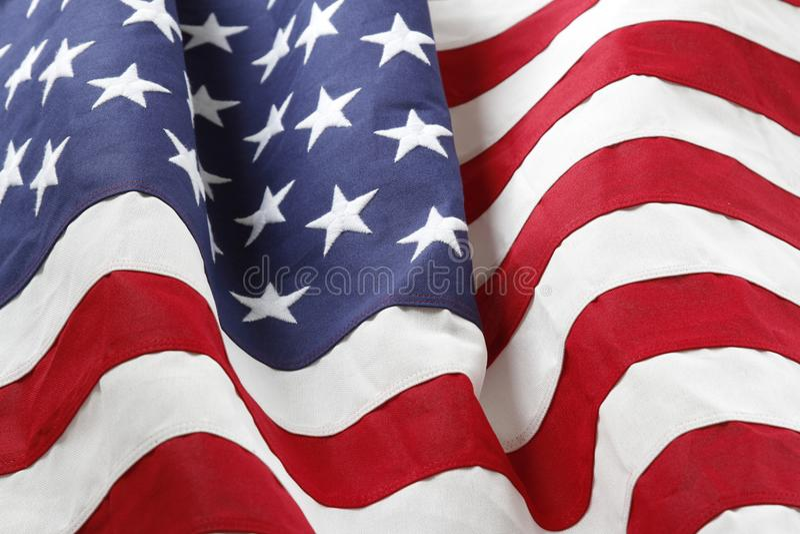 Download Bandeira dos EUA foto de stock. Imagem de ripples, americano - 107526030