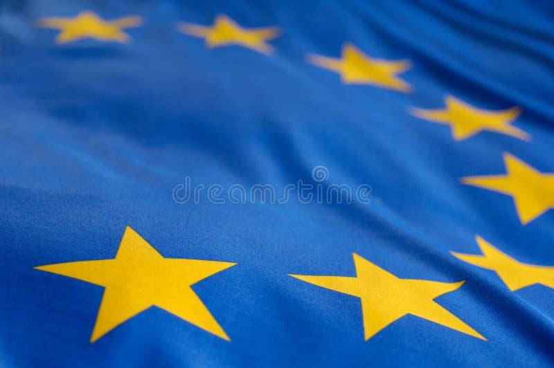Bandeira européia foto de stock