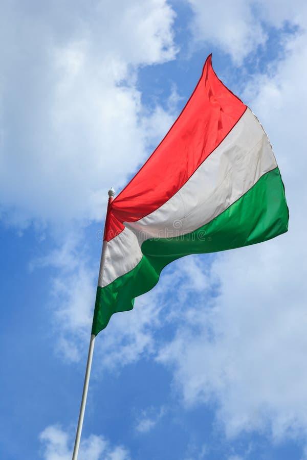 Bandeira húngara fotografia de stock royalty free