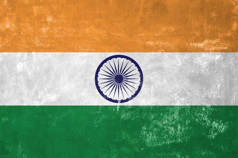 Bandeira indiana imagem de stock