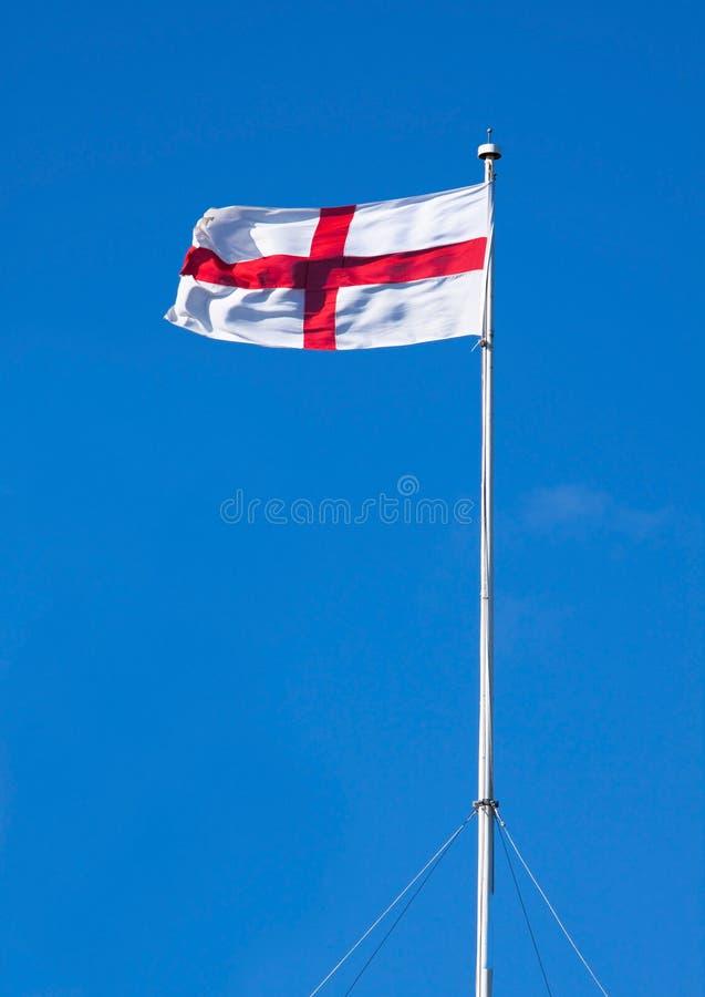 Bandeira inglesa de St George fotografia de stock
