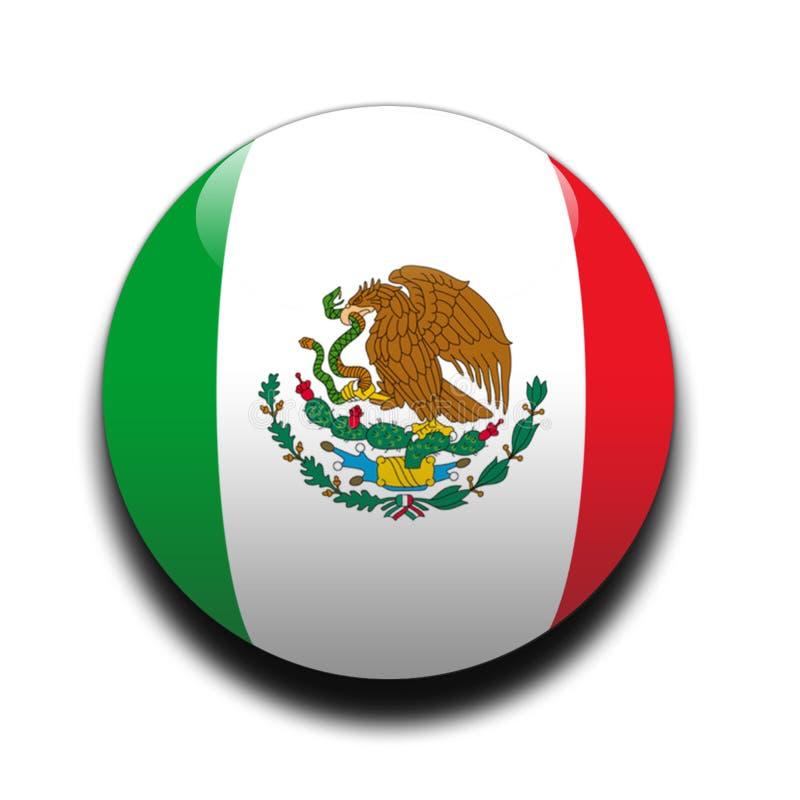 Download Bandeira mexicana ilustração stock. Ilustração de naturalize - 63487