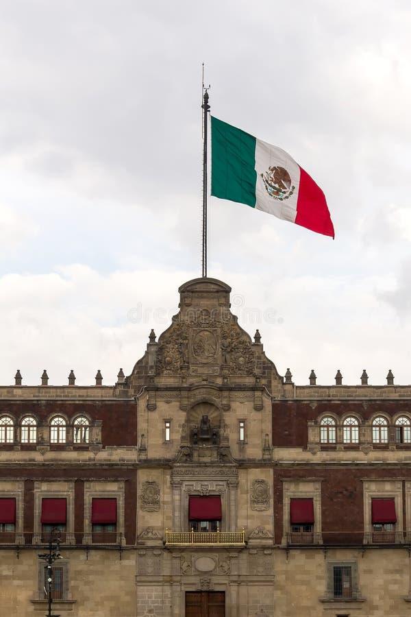 Bandeira mexicana fotografia de stock royalty free