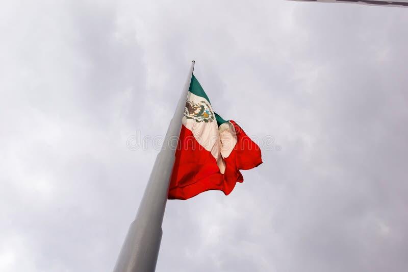 Bandeira mexicana imagens de stock royalty free