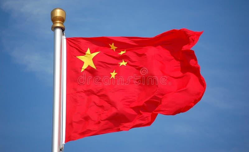 Bandeira nacional da porcelana ilustração do vetor