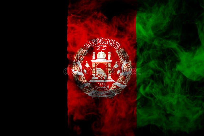 Bandeira nacional de Afeganistão fotos de stock