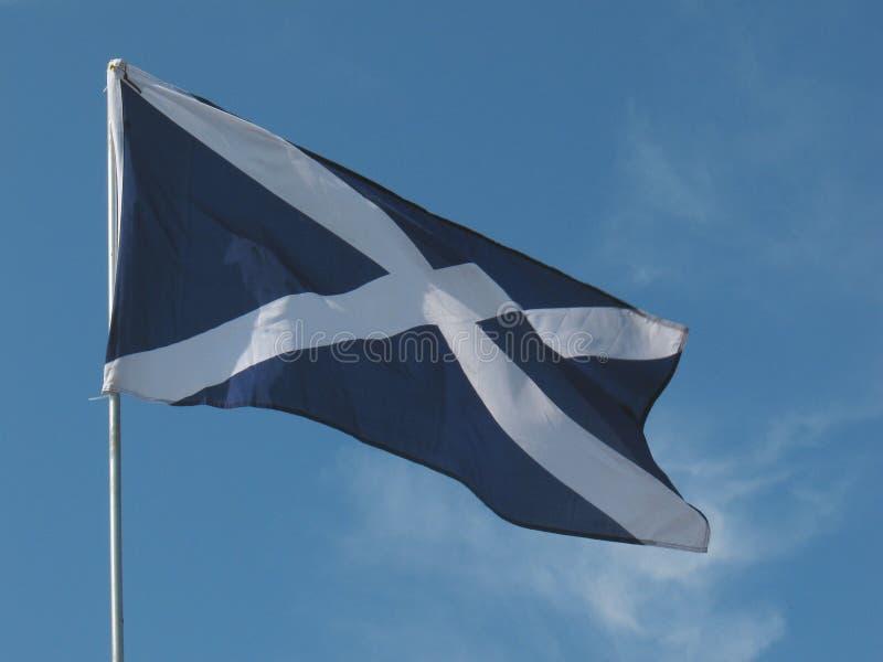 Bandeira nacional de Scotland foto de stock royalty free