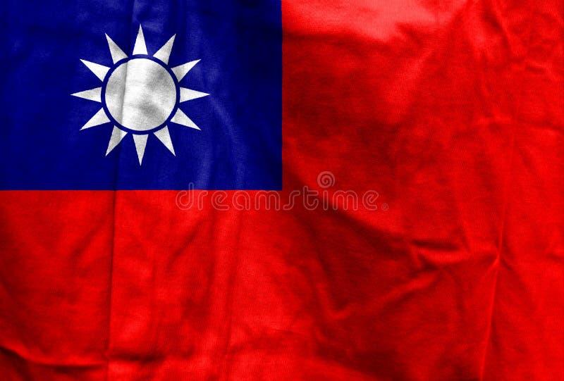 Bandeira nacional de Taiwan fotografia de stock