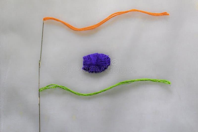 Bandeira nacional tricolor indiana, poder do símbolo do sinal da independência de india fotografia de stock royalty free