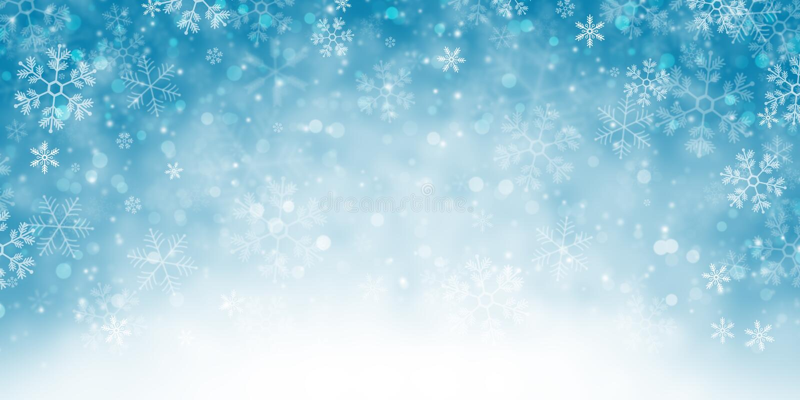 Bandeira nevado do fundo do inverno ilustração do vetor