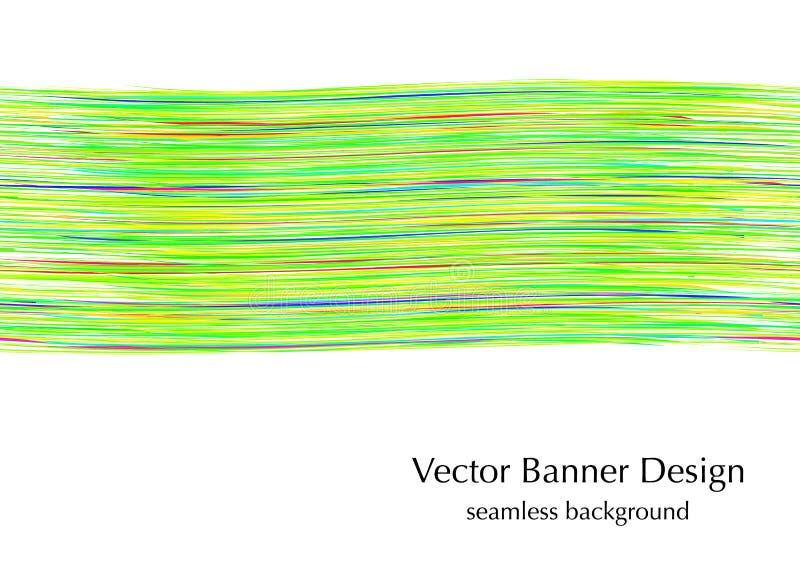 Bandeira para o design web ilustração do vetor