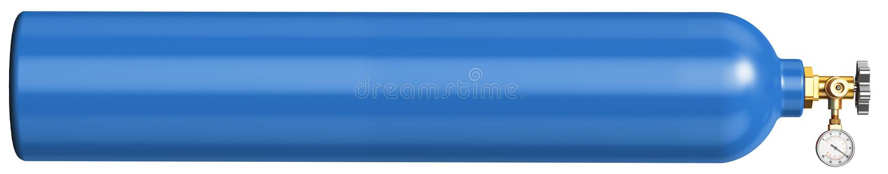 Bandeira para o local para a venda do oxigênio líquido fotos de stock