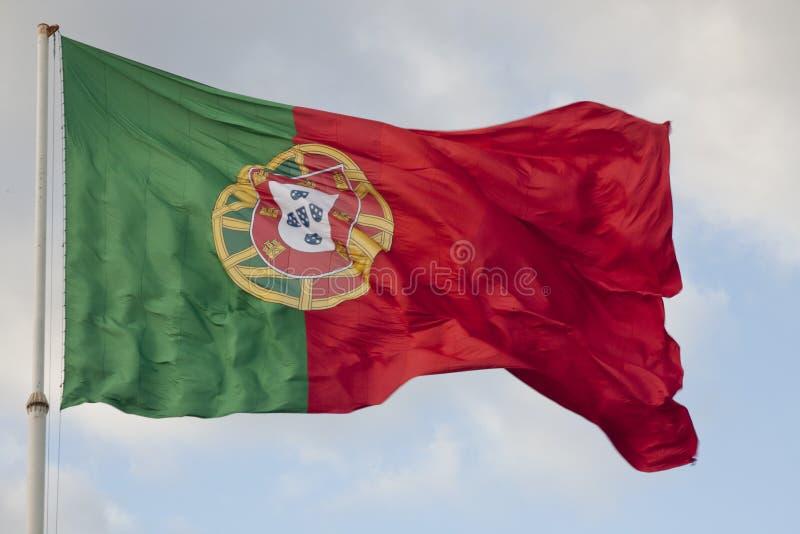 Bandeira portuguesa imagens de stock royalty free