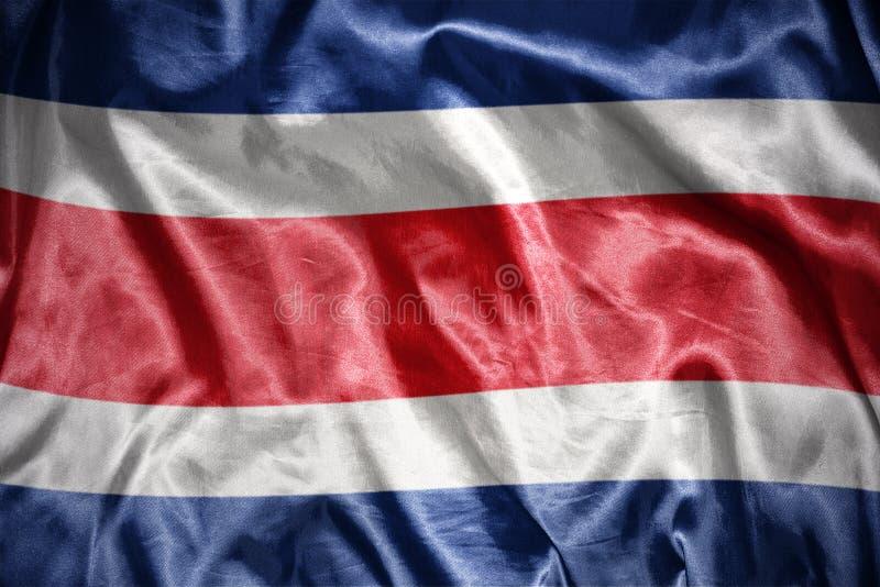 bandeira rican de brilho da costela ilustração royalty free