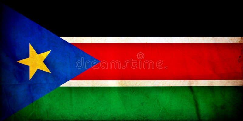 Bandeira sul do Grunge de Sud?o fotos de stock