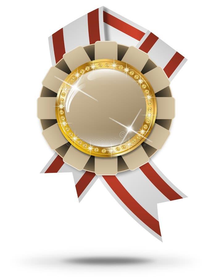 Bandeira superior ilustração royalty free