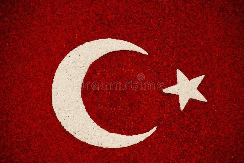 Bandeira turca imagem de stock