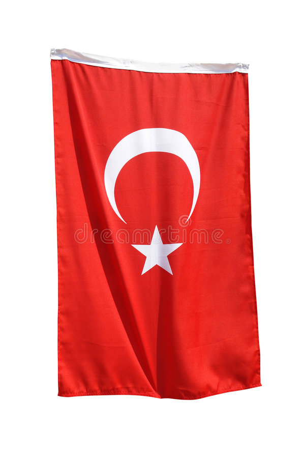 Bandeira turca fotos de stock royalty free