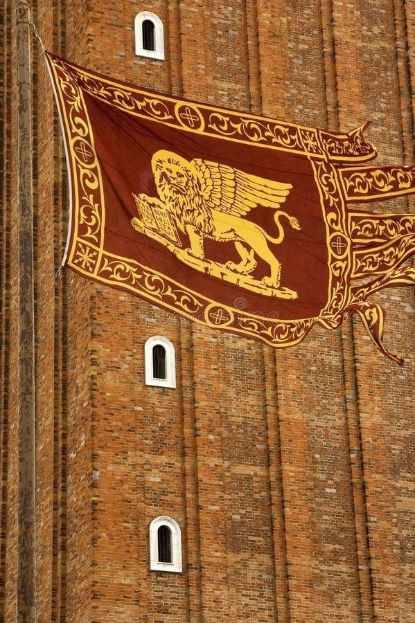 Bandeira Venetian fotos de stock royalty free