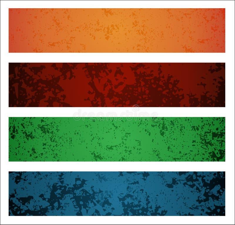 Bandeiras ilustração do vetor