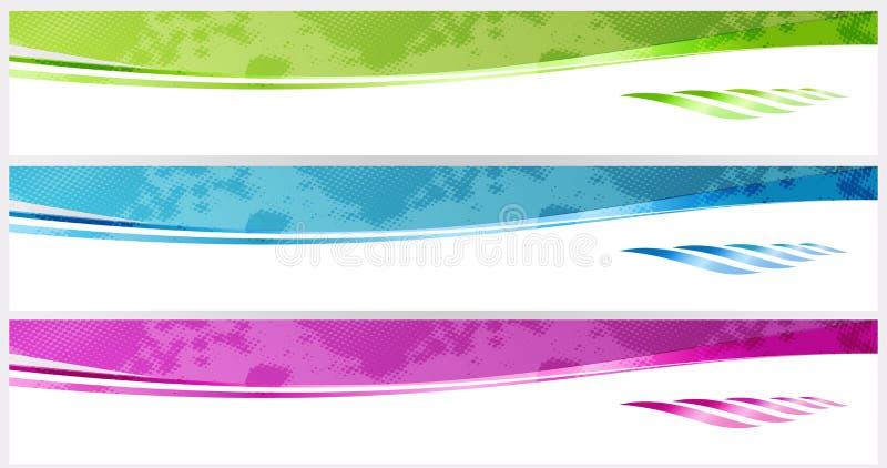 Bandeiras. ilustração do vetor