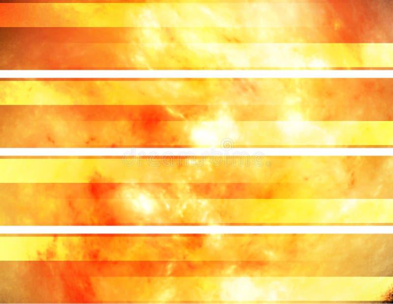 Bandeiras abstratas ilustração royalty free