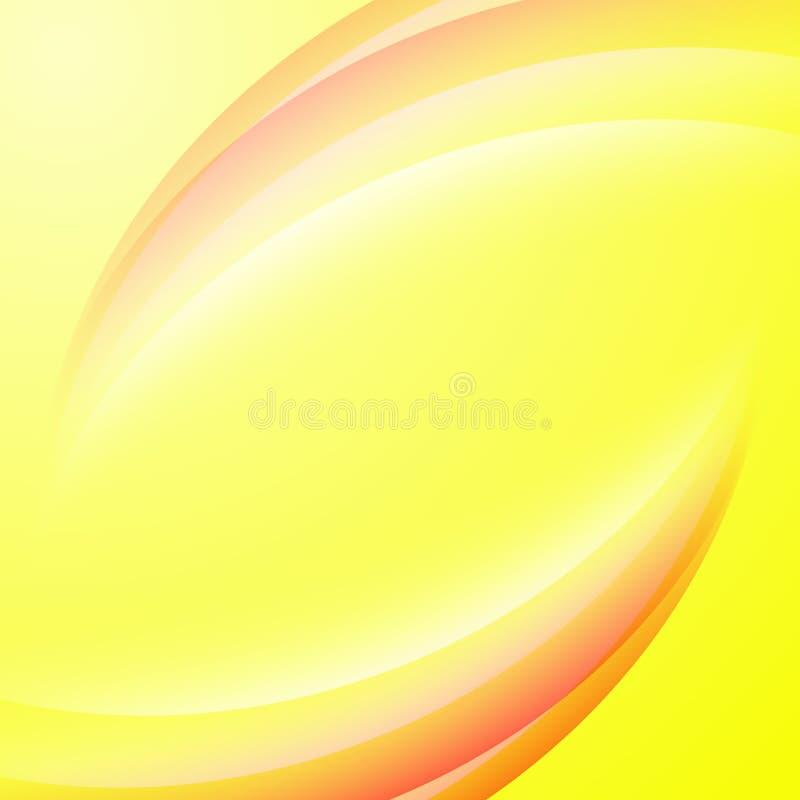 Bandeiras abstratas coloridas com linhas Vetor fotografia de stock