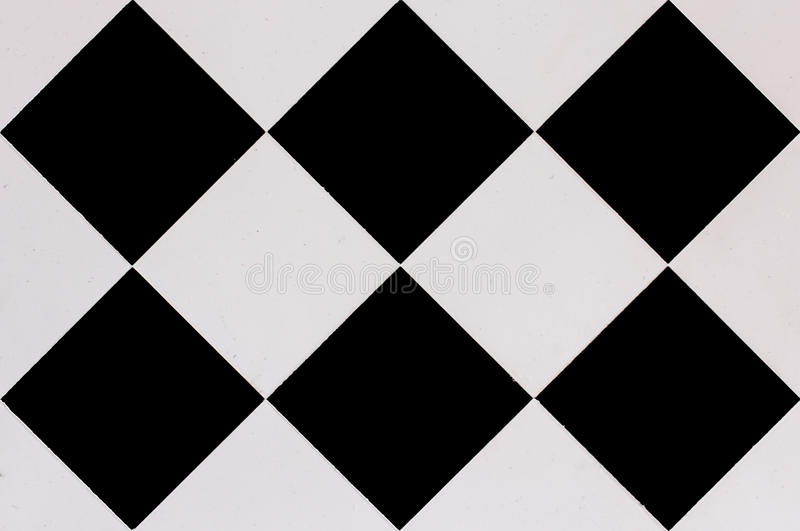 Bandeiras Checkered fotografia de stock